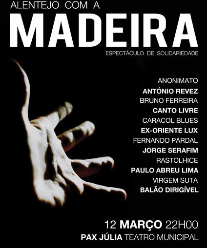 Beja Madeira cartaz