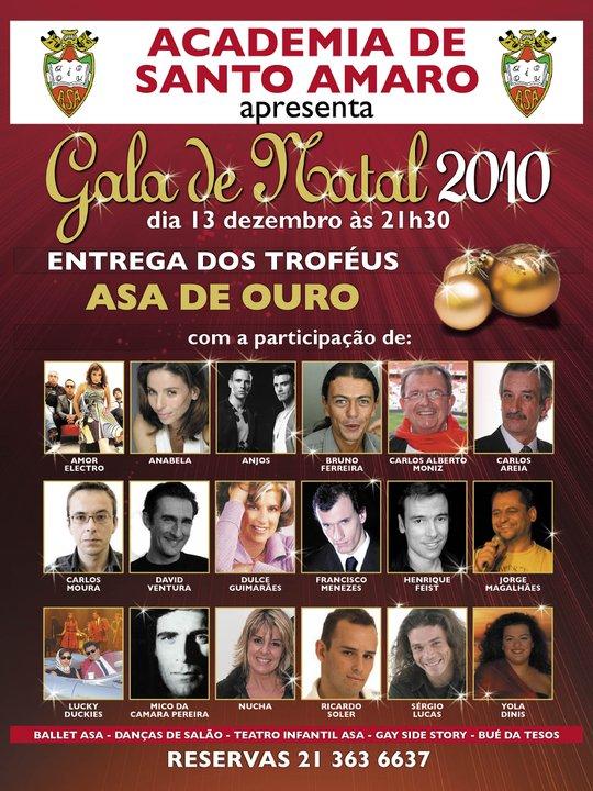 Gala Natal Santo Amaro 2010
