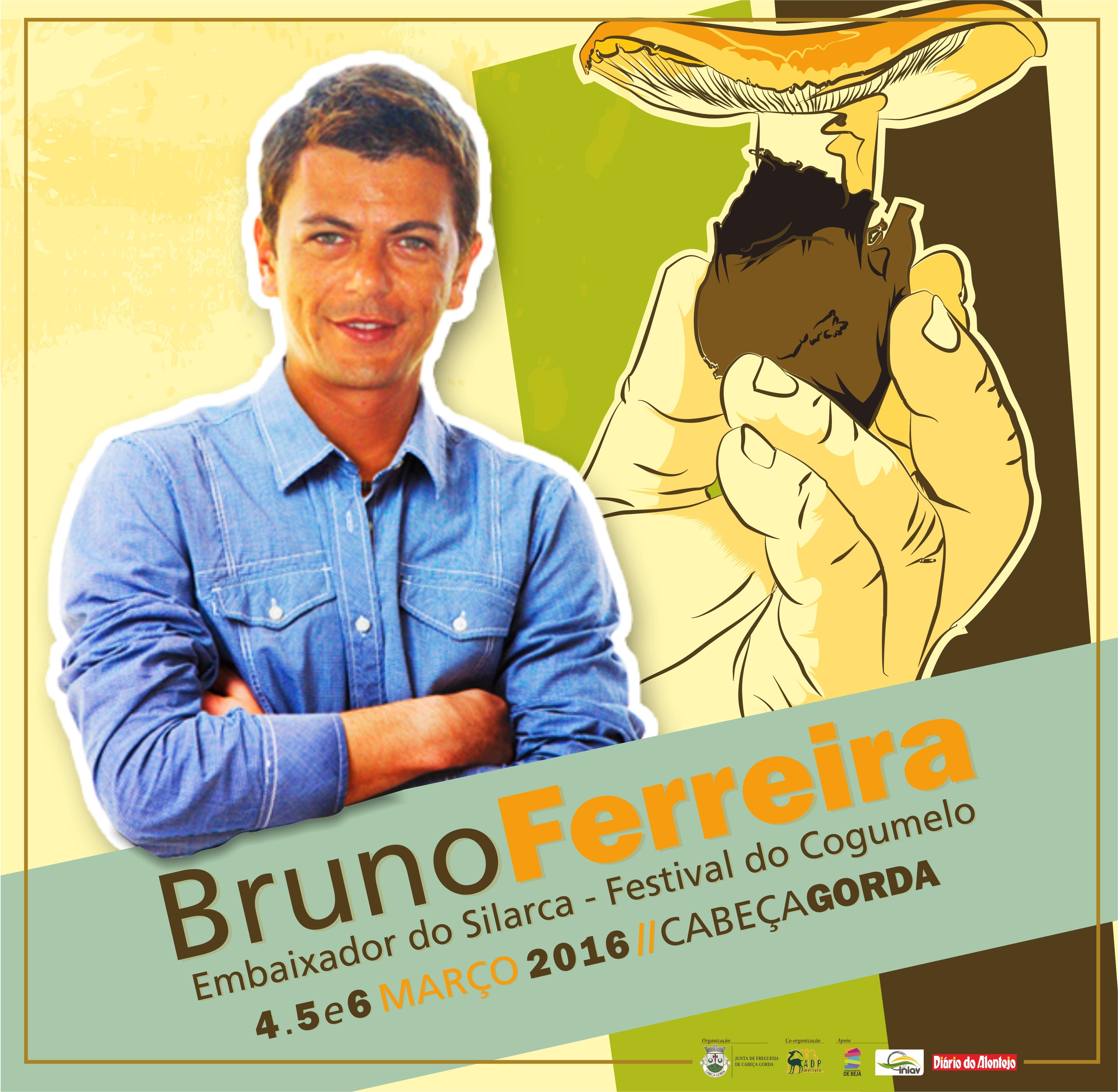 Bruno Ferreira Embaixador Festival do Cogumelo Silarca